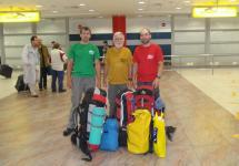 Last picture - Africa Expedition 2010 - a farewell at the Ruzyne airport