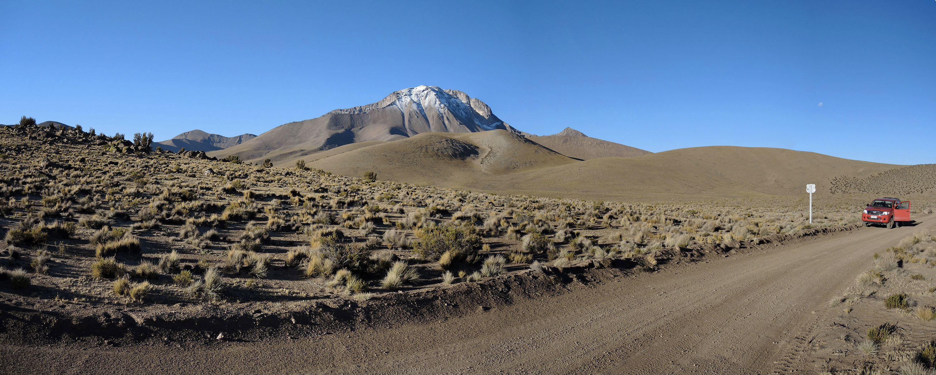 Cerro Lliscaya (5634m), Chile/Bolívie