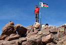 Point Lenana (4985m), Mt. Kenya